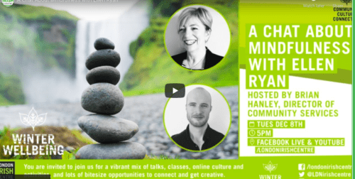 A Chat About Mindfulness with Ellen Ryan